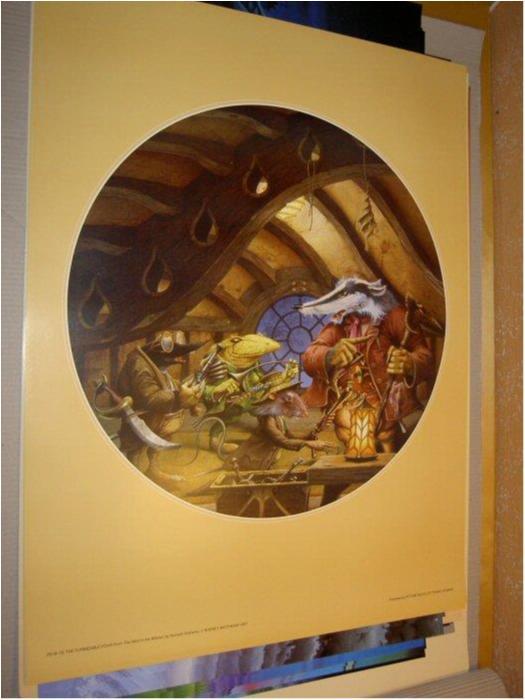 Rodney Matthews -Fantasy Art 1 (Det susar i säven)