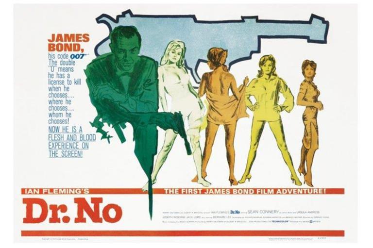 James Bond 007 - Dr No - One Sheet