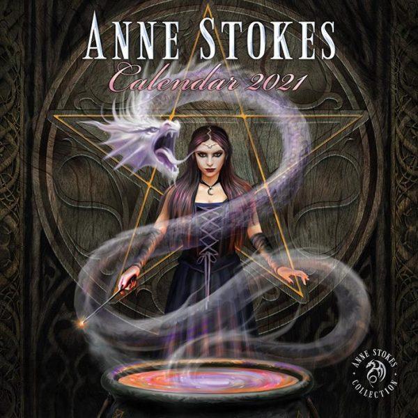 Anne Stokes 2021 - Kalender 30 x 30 cm