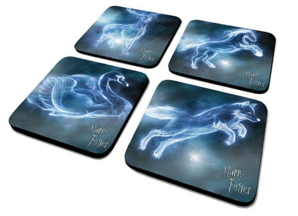 Underlägg - Harry Potter (Patronus) - Coaster set