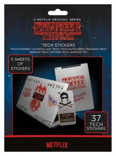 Tech stickers - Stranger Things (The Upside Down)