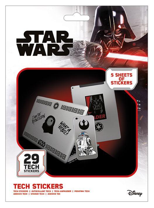 Tech stickers - Star Wars (Force)