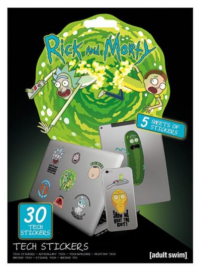 Tech stickers - Rick and Morty (Adventures)