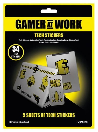 Tech stickers - Gamer At Work (Collectables)