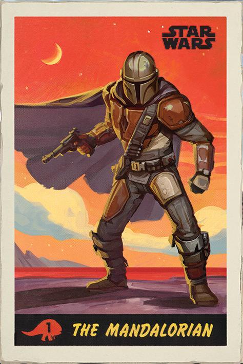 Star Wars: The Mandalorian (Poster)