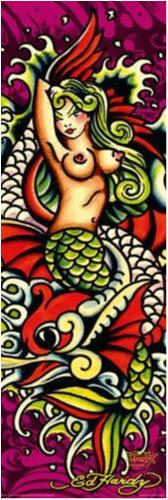 Ed Hardy - Mermaid