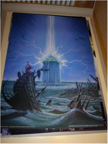 Rodney Matthews -Fantasy Art 12(Sinking ship)