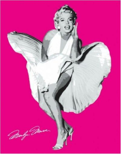 Marilyn Monroe - Seven year itch, Pink