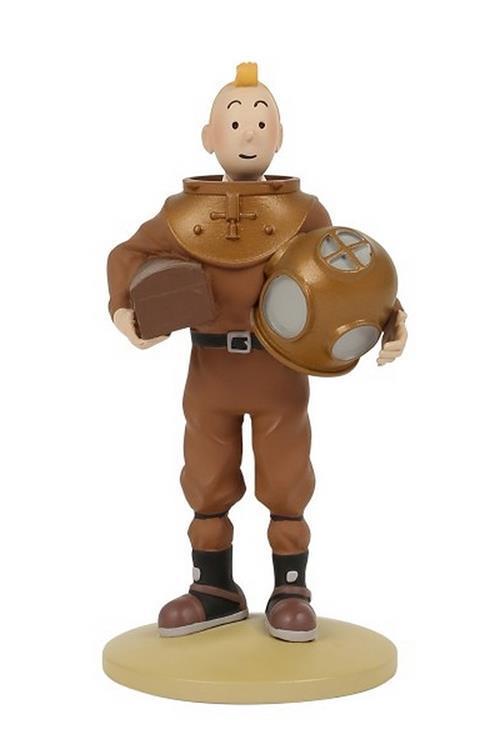Tintin - Statyett - Tintin i dykardräkt