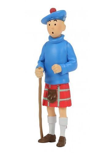 Tintin - PVC - Tintin i kilt