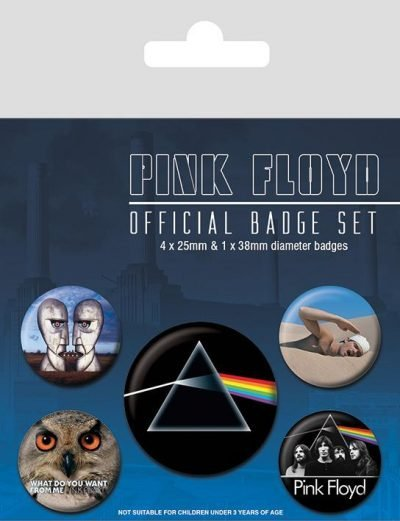 Knappsats - Badge Pack - Pink Floyd