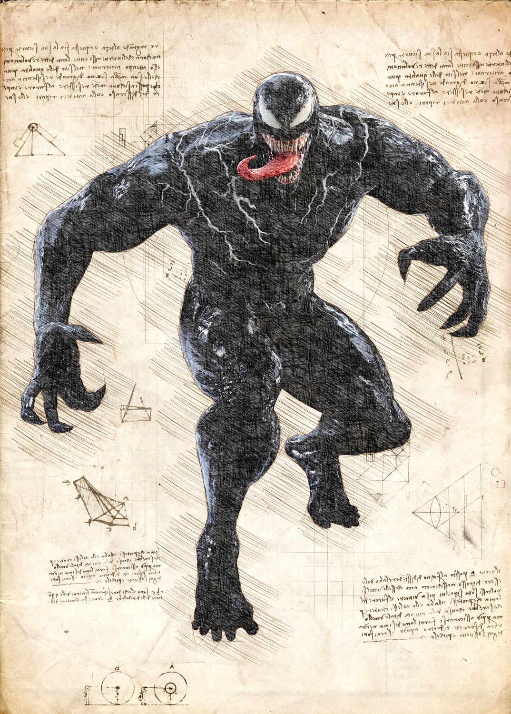 A3 Print - Venom