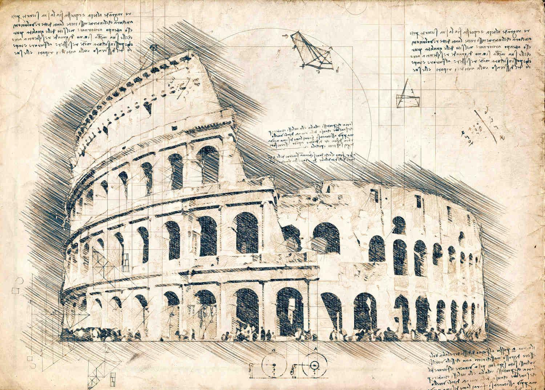 A3 Print - Colosseum