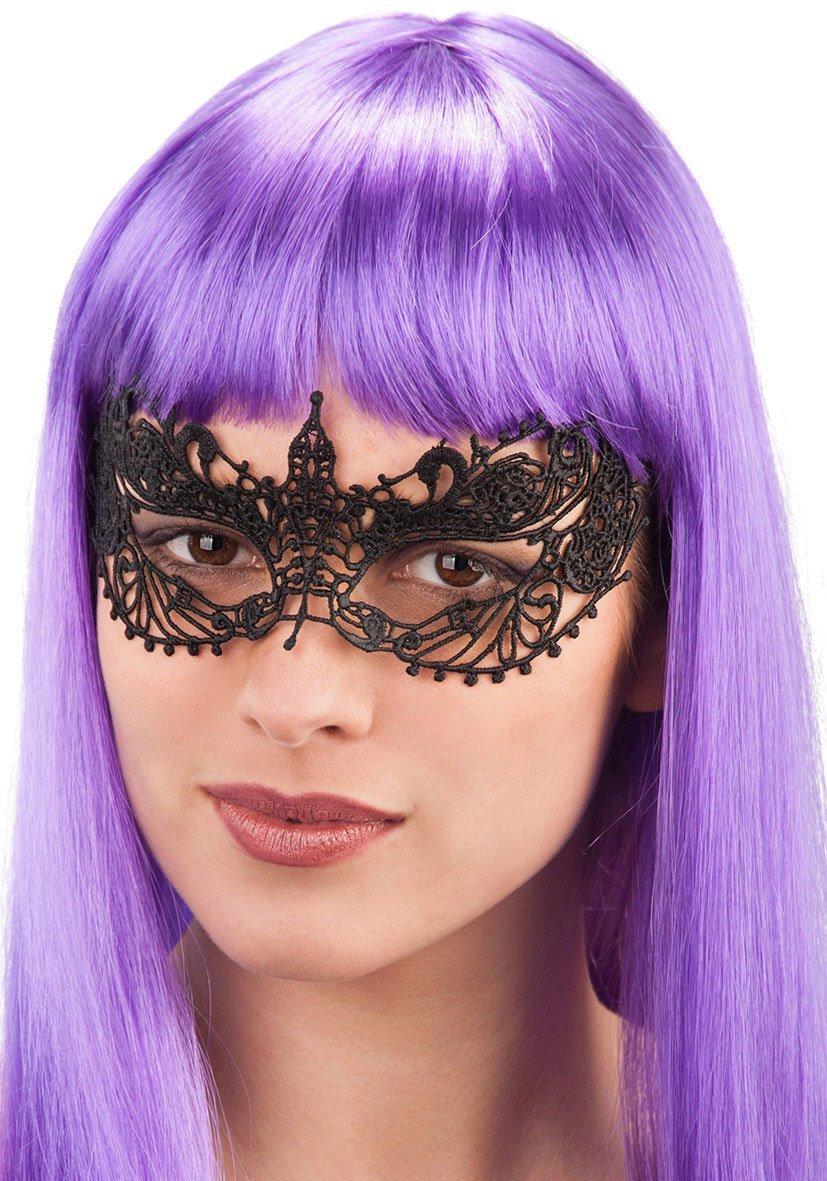 Ansiktsmask - Mask in black lace