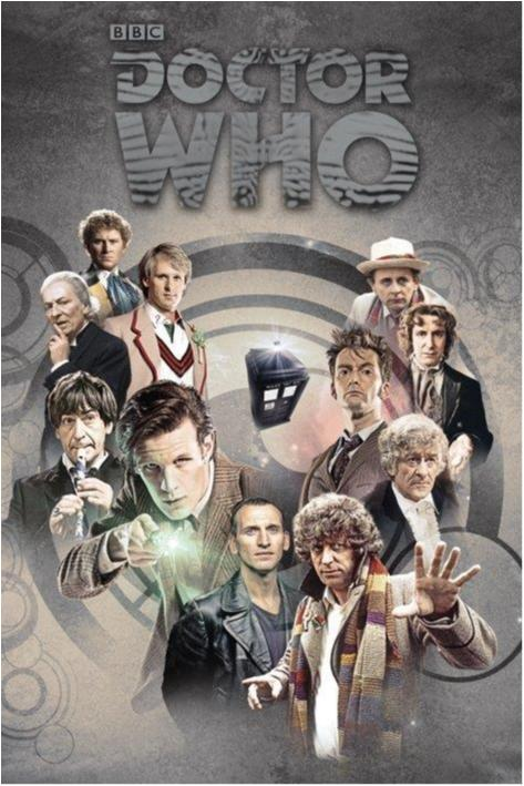Doctor Who - Doctors through time
