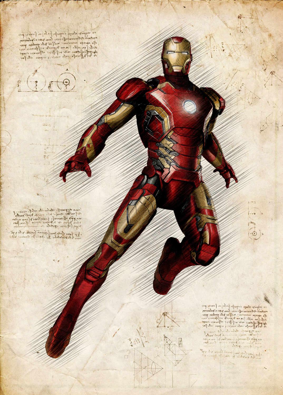 A3 Print - Ironman