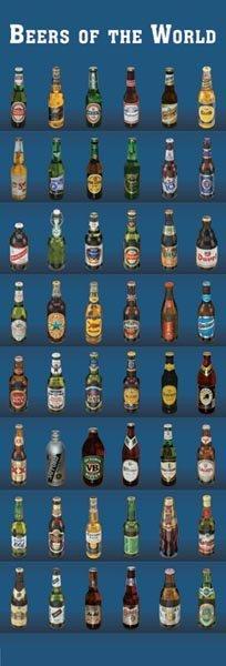 Beers of the world - Världens öl