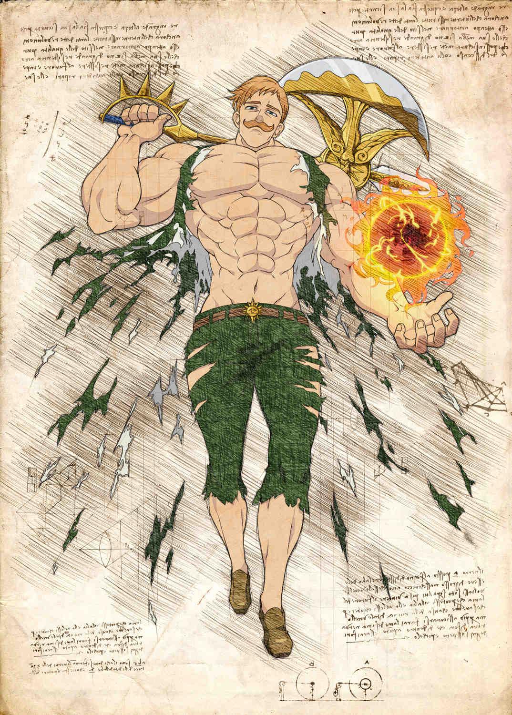 Pergament - 7 Deadly Sins - Escanor