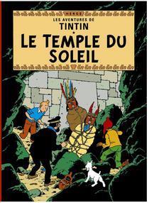 Poster - Tintin Le Temple du Soleil - Solens tempel