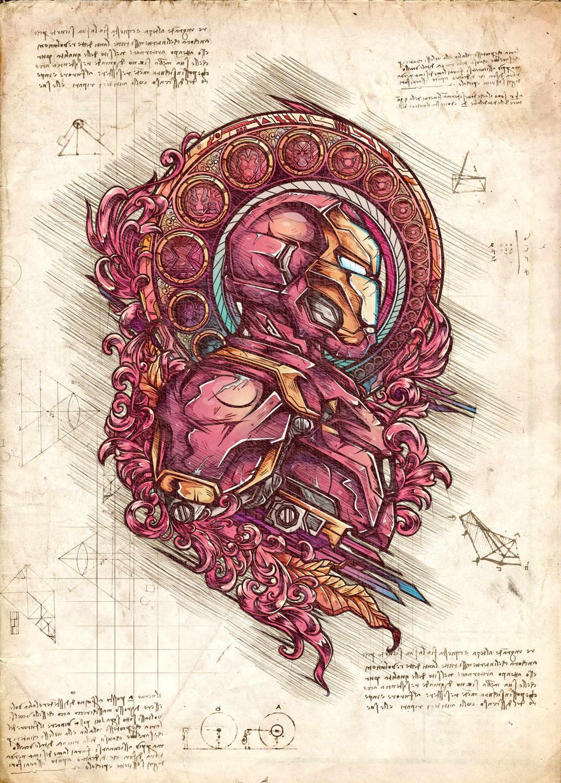 A3 Print - Iron Man
