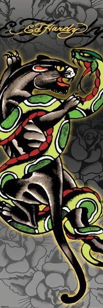 Ed Hardy Poster Panther och Snake