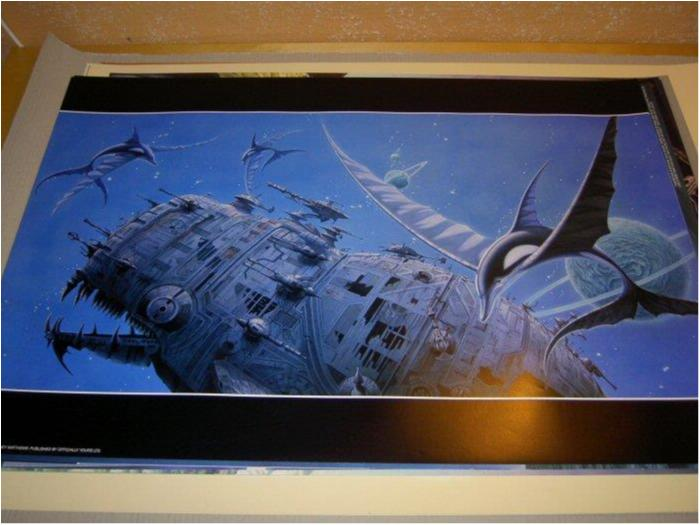Rodney Matthews - Fantasy Art 10 (Flying dolphins)