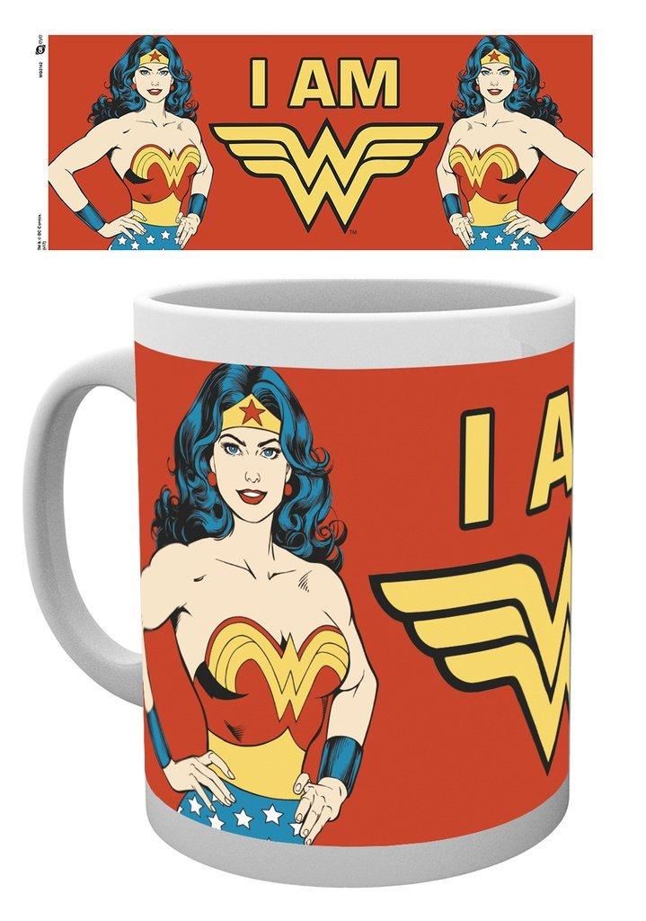 DC Comics - I am Wonder Woman - Mugg