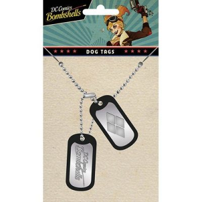 Halsband - DC Comics Bombshells Dog Tags