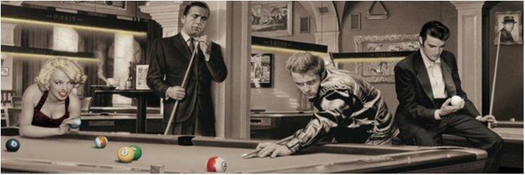 Consani - Game of fate, Elvis, Marilyn, Dean, Bogart