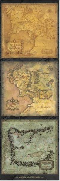 Lord of the rings - Maps of Middle earth