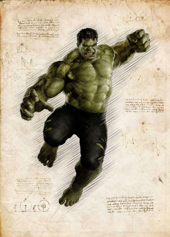 A3 Print - Hulk