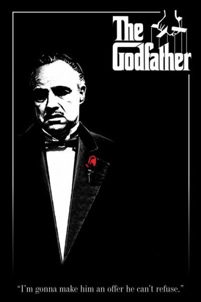 The Godfather - Red Rose - Gudfadern