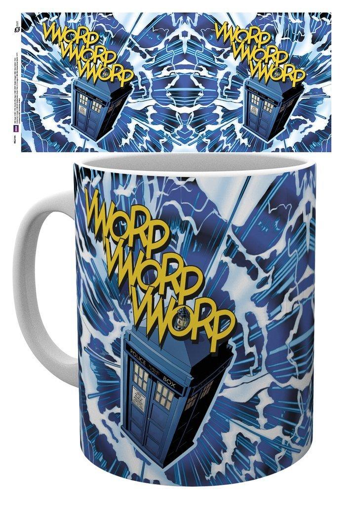 Doctor Who - Vworp Tardis - Mugg