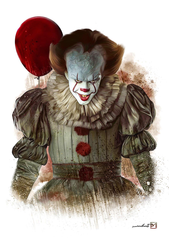 A3 Print - IT - Clown