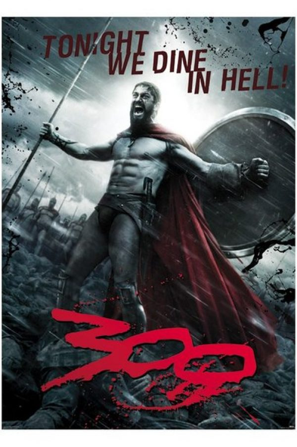 Poster 300 - Tonight We Dine in Hell