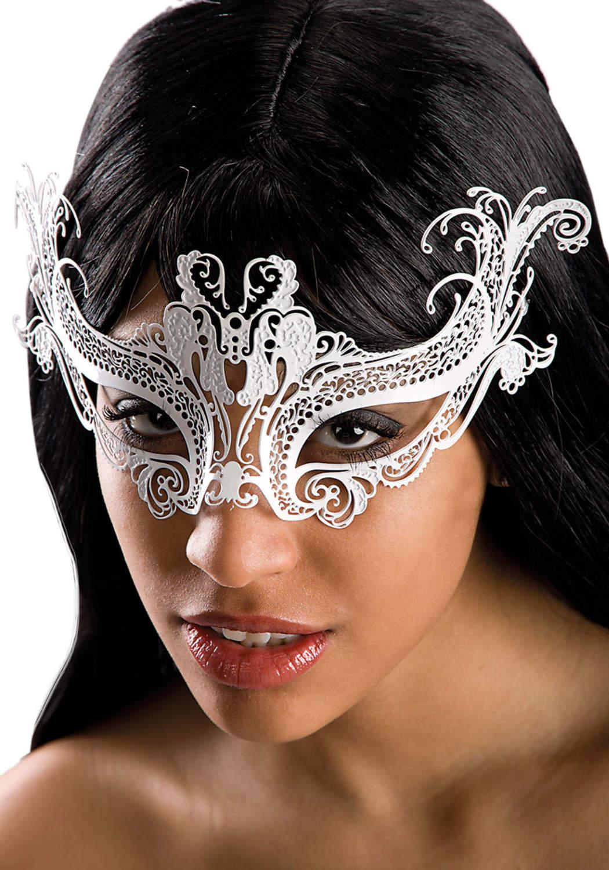 Ansiktsmask - White metal mask