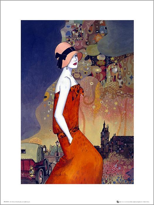 Exklusivt Art Print - Helena Lam - Summer waiting