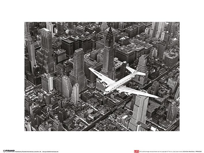 Time Life - DC-4 Over Manhattan