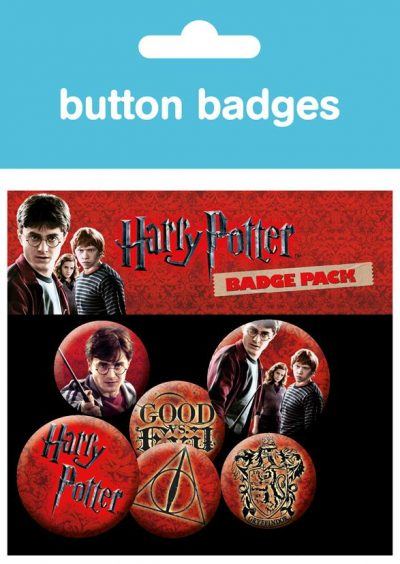 Knappsats - Badge Pack - Harry Potter - Icon Pack
