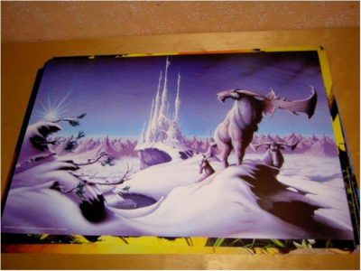 Rodney Matthews - Fantasy Art 23 (Ice city)