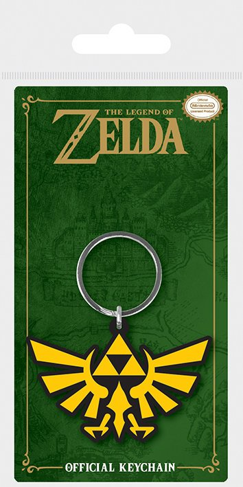 Nyckelring - The Legend Of Zelda (Triforce)