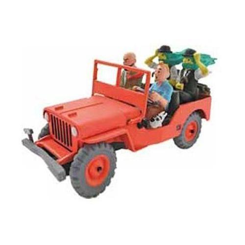 Tintin - Röd Jeep Willys