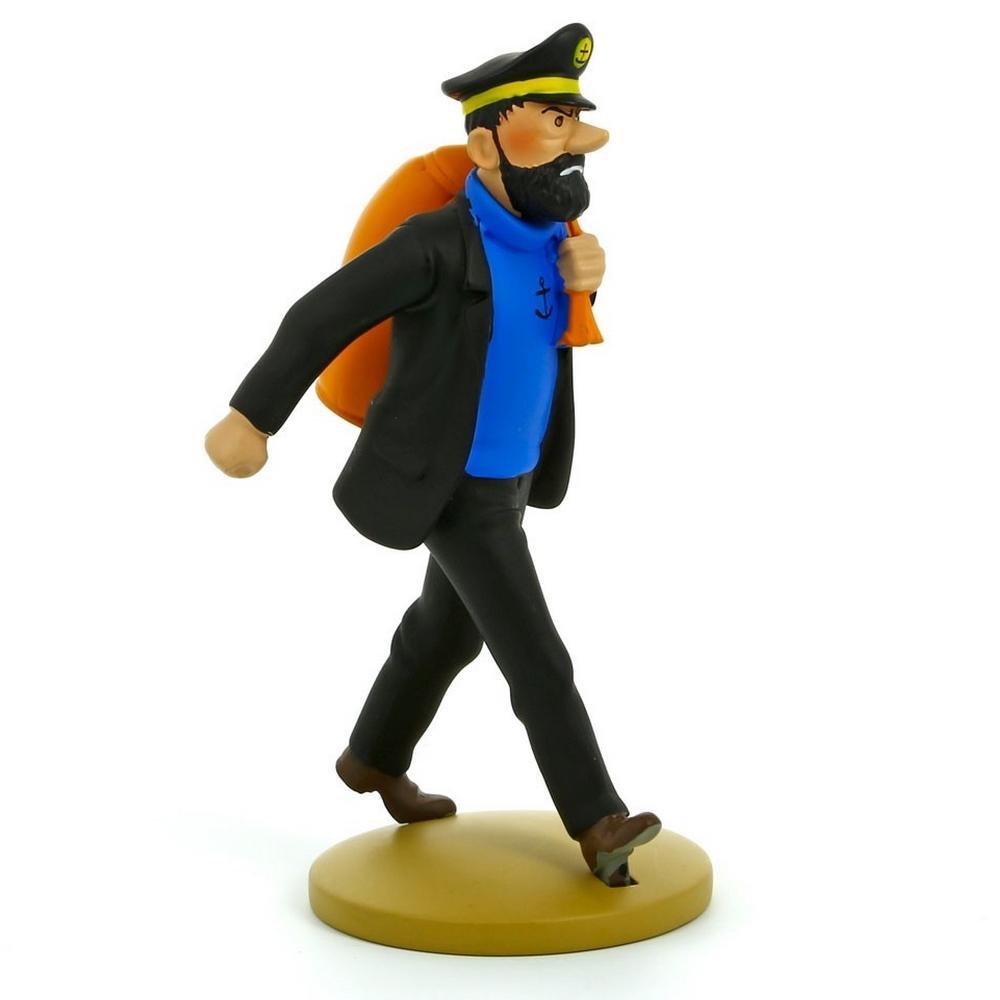 Tintin - Statyett - Hadock med säck