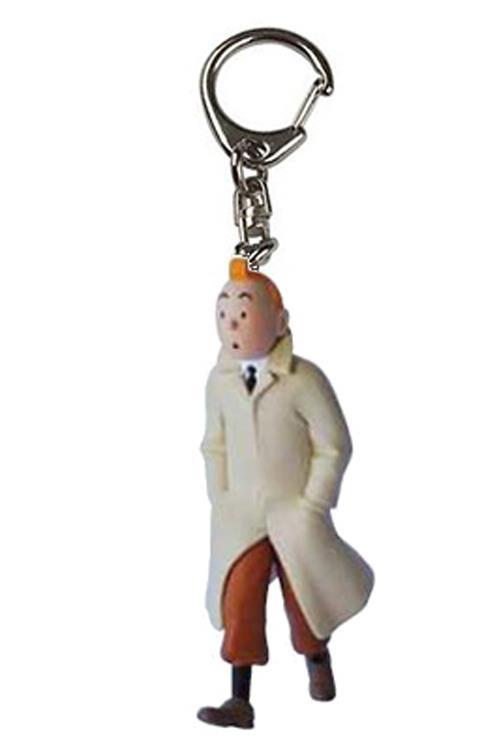 Tintin - Nyckelring i plast - Tintin går.