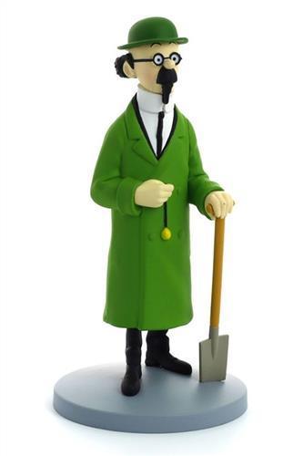Tintin - Statyett - Professor Kalkyl med spade