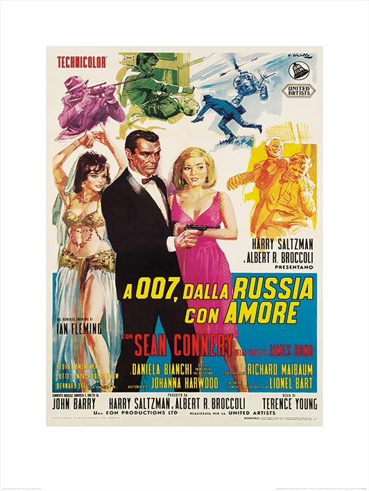 James Bond (From Russia With Love - Sketches)
