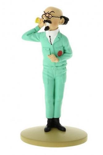 Tintin - Statyett - Professor Kalkyl med hörlur