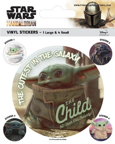 Vinyl Sticker Pack - Klistermärken - Star Wars - The Mandalorian (The Child)