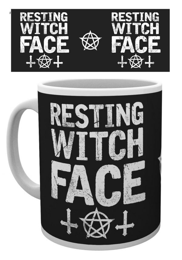 Witch Please - Resting Witch Face - Mugg