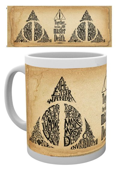 Harry Potter - Deathly Hallows Words - Mugg